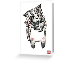 Little spook Greeting Card