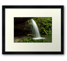 """Secluded Paradise"" Framed Print"