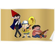 Wirt, Bipper, and Steven~ Poster