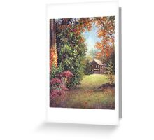 Blazing Ivy Greeting Card