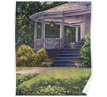 Victorian Porch Poster
