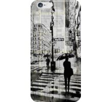 manhattan moment iPhone Case/Skin
