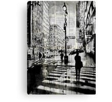 manhattan moment Canvas Print