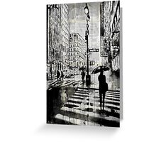 manhattan moment Greeting Card