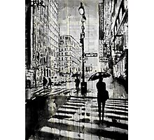 manhattan moment Photographic Print