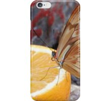 The Lemon Butterfly iPhone Case/Skin