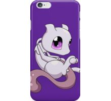 pokemon baby chibi mew mewtwo anime shirt iPhone Case/Skin