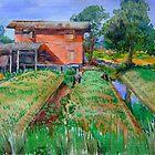 Farmwork in Thailand. by Hopebaby