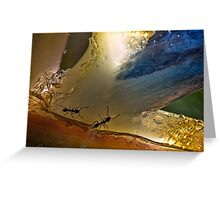 Ants in paradise Greeting Card