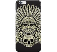 apache owl iPhone Case/Skin