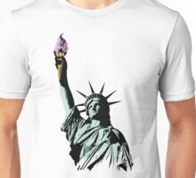 A soft serve of Liberty Unisex T-Shirt