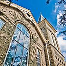 Church Window by ShahnaChristine .