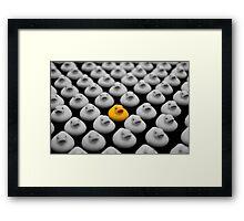 Yellow Ducky Framed Print