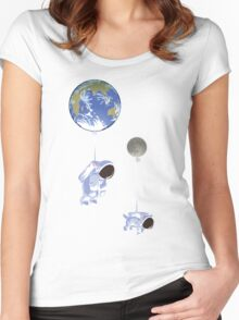 Spaceboy Women's Fitted Scoop T-Shirt