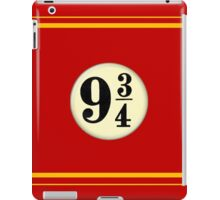 9 3/4 - Red & Yellow iPad Case/Skin