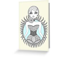Hulahoop Betty Greeting Card