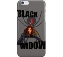 Black Widow iPhone Case/Skin