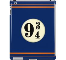 9 3/4 - Blue & Bronze iPad Case/Skin