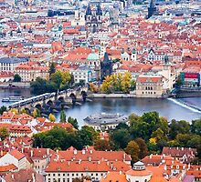 The Charles Bridge & Prague by eegibson