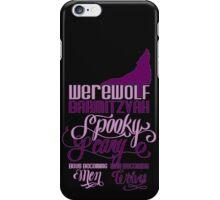 Werewolf Barmitzvah iPhone Case/Skin