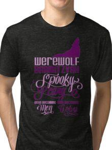 Werewolf Barmitzvah Tri-blend T-Shirt