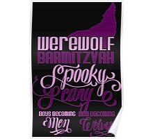 Werewolf Barmitzvah Poster