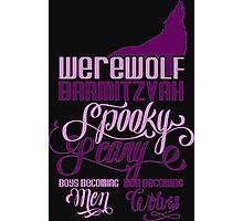 Werewolf Barmitzvah Photographic Print