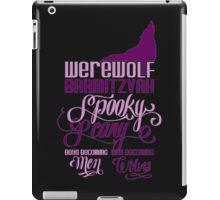 Werewolf Barmitzvah iPad Case/Skin