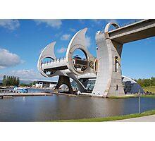 The Falkirk Wheel Boat Lift, Falkirk, Scotland Photographic Print