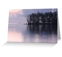 Pastel Evening Greeting Card