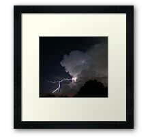 Late Evening Thunderstorm Framed Print