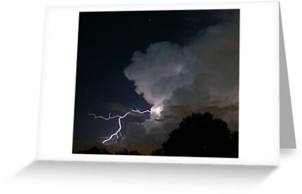 Late Evening Thunderstorm by MMerritt