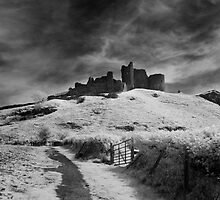 Carreg Cennen by Mark Jones