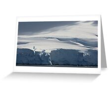 The White Continent Greeting Card