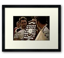 Mike And Danny Framed Print
