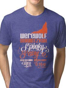 Werewolf Barmitzvah Orange Tri-blend T-Shirt