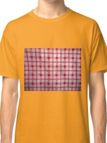 closeup pattern texture of general traditional textile style native from fabric  Classic T-Shirt