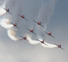 The Red Arrows by Shane Ransom
