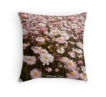 Western Australia Wildflowers Throw Pillow