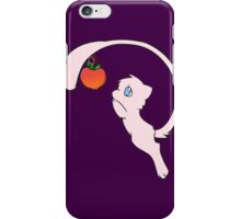 pokemon mew mewtwo apple cute chibi anime shirt iPhone Case/Skin