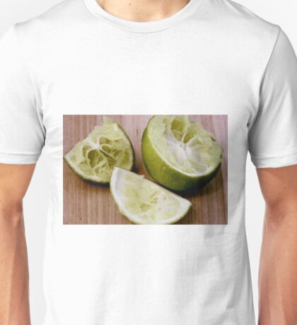Freshed Squeezed Limes Unisex T-Shirt