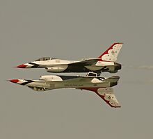 USAF Thunderbirds by Daniel McIntosh