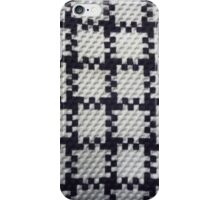 closeup pattern texture of general traditional textile style native from fabric  iPhone Case/Skin