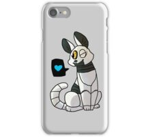 Purrtal - Chibi P-Body Sticker iPhone Case/Skin