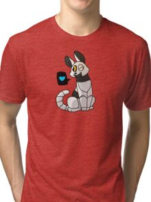 Purrtal - Chibi P-Body Sticker Tri-blend T-Shirt