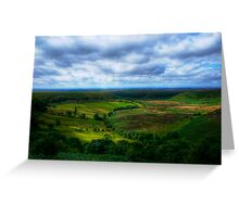 North York Moors Legend Greeting Card