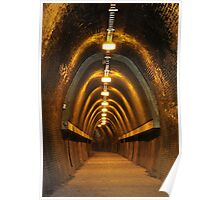 Fernleigh Tunnel - Newcastle NSW Poster