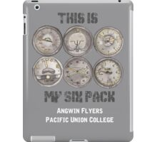 """PUC Angwin Flyers """"This is My Six Pack"""" iPad Case/Skin"""