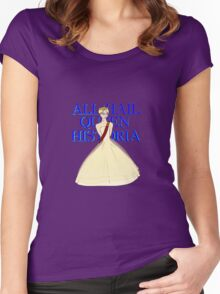 All Hail Queen Historia Women's Fitted Scoop T-Shirt