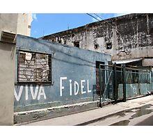 Viva Fidel Photographic Print